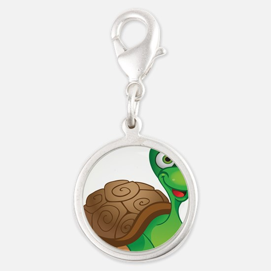 Funny Cartoon Turtle Charms