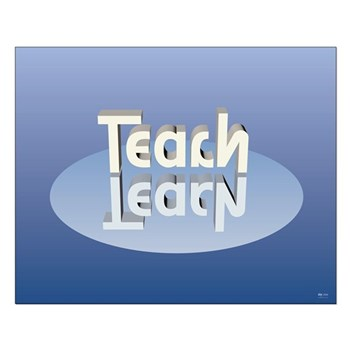 "Small Teach-Learn Poster (20"" x 15"")"