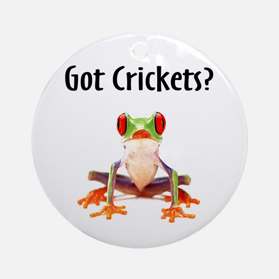 Red Eyed Tree Frog Ornament (Round)