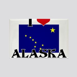 Alaska flag Rectangle Magnet