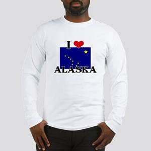 Alaska flag Long Sleeve T-Shirt