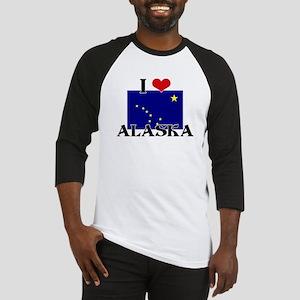 Alaska flag Baseball Jersey