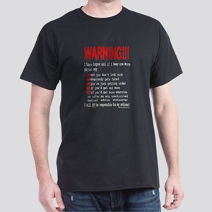 Lupus Warning Dark T-Shirt
