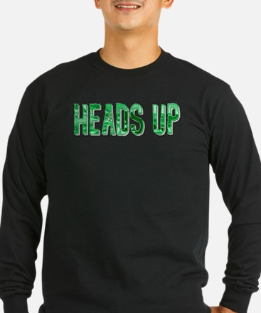 HEADS UP-GREEN HUES2 T