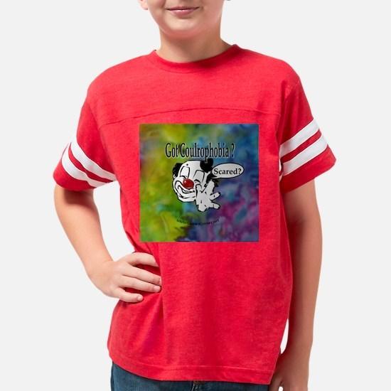 GotCoulrophobia-button Youth Football Shirt