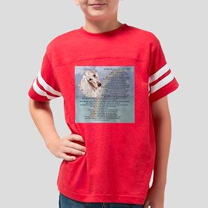 Afghan Hound RB1 Youth Football Shirt