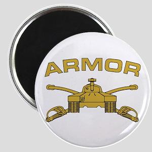 Armor Branch Insignia Magnet