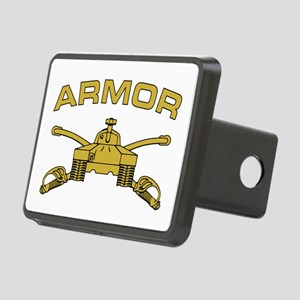 Armor Branch Insignia Rectangular Hitch Cover