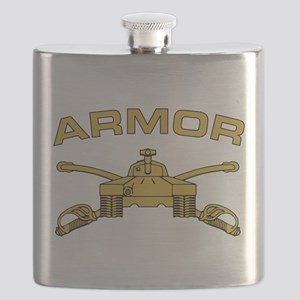 Armor Branch Insignia Flask
