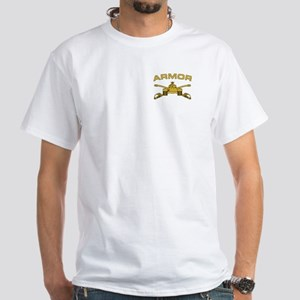 Armor Branch Insignia White T-Shirt