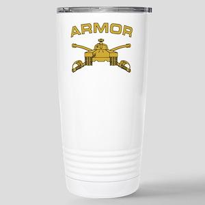 Armor Branch Insignia Stainless Steel Travel Mug