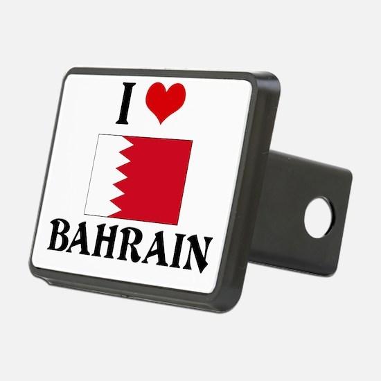 I HEART BAHRAIN FLAG Hitch Cover