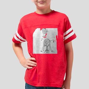 3-Maternity_bellymamagiraffes Youth Football Shirt