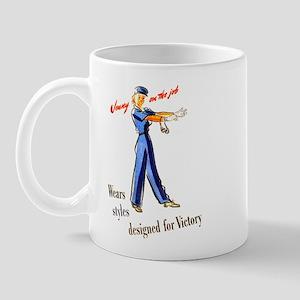 Jenny on the Job #4 Mug