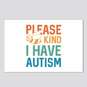 I Have Autism Postcards (Package of 8)
