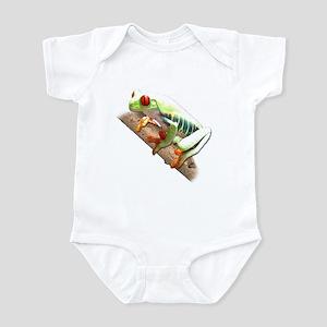 Red Eyed Tree Frog III Infant Bodysuit
