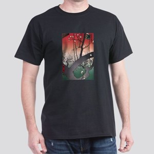 Ukiyoe Hanami Dark T-Shirt