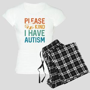 I Have Autism Women's Light Pajamas