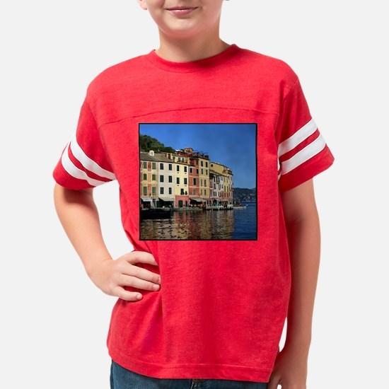 portofino_tile Youth Football Shirt
