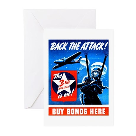 Back the Attack! Greeting Cards (Pk of 10)