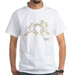 Epee Neon action White T-Shirt