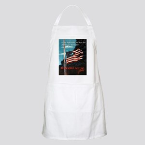 Remember December 7th BBQ Apron
