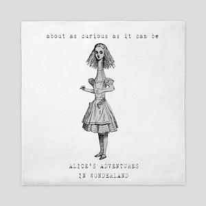 Tall Alice in Wonderland Queen Duvet