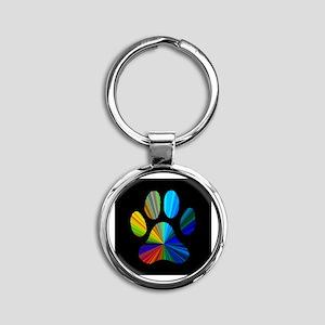 PAW PRINT Keychains