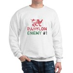 Babylon Enemy #1 Retro Sweatshirt
