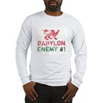Babylon Enemy #1 Retro Long Sleeve T-Shirt
