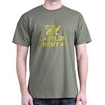 Babylon Enemy #1 Retro Dark T-Shirt
