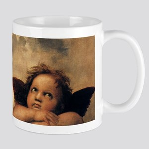 Angels by Rapahel, Vintage Renaissance Art Mug