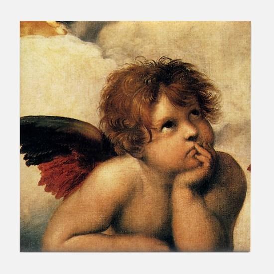 Angels by Rapahel, Vintage Renaissance Art Tile Co