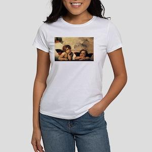 Angels by Rapahel, Vintage Renaissance Art T-Shirt