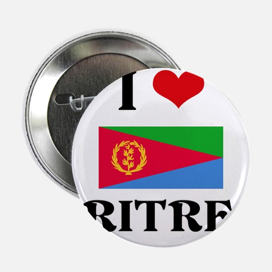 "I HEART ERITREA FLAG 2.25"" Button"