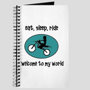 Eat, sleep, ride Journal