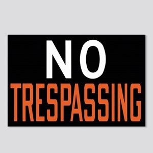No Trespassing Postcards (Package of 8)