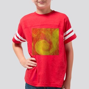 Sunset Wave Youth Football Shirt