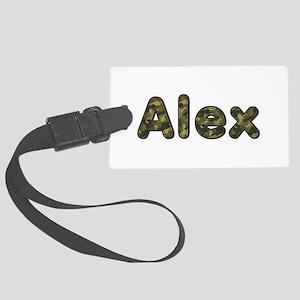 Alex Army Large Luggage Tag