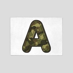 A Army 5'x7' Area Rug