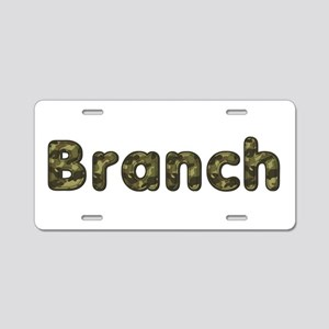Branch Army Aluminum License Plate