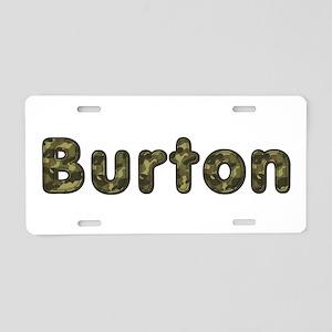 Burton Army Aluminum License Plate