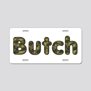 Butch Army Aluminum License Plate