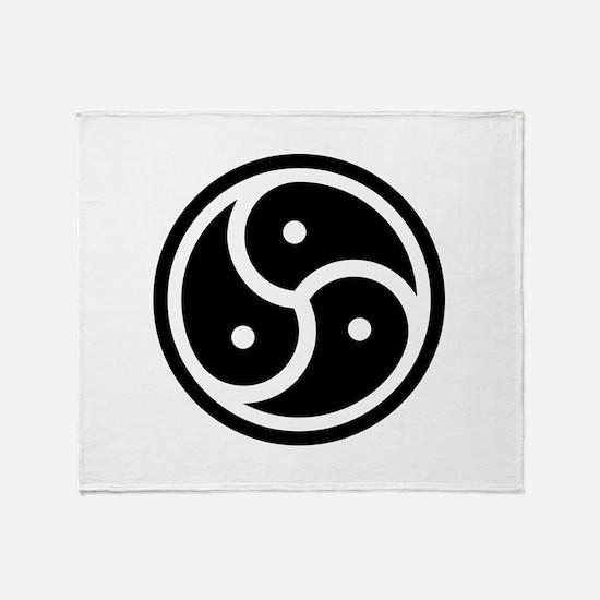 BDSM Symbol Throw Blanket