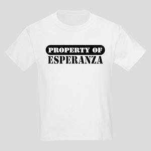 Property of Esperanza Kids T-Shirt
