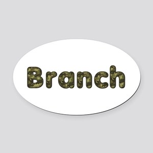 Branch Army Oval Car Magnet
