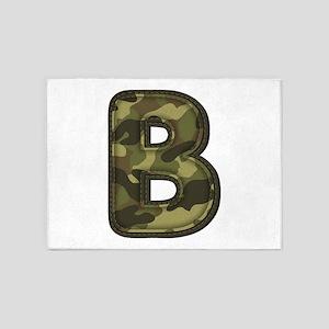 B Army 5'x7' Area Rug