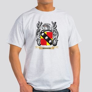 Hannan Coat of Arms - Family Crest T-Shirt