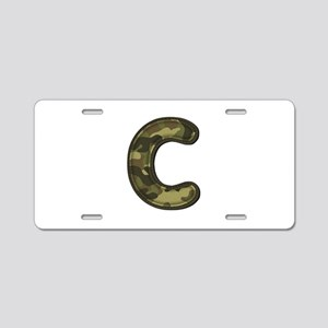 C Army Aluminum License Plate
