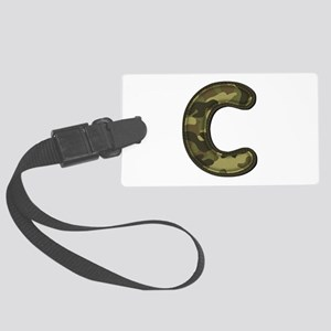 C Army Large Luggage Tag